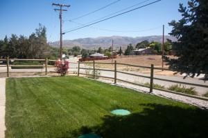 Mom's house, Tehachapi, CA, 2015 (front yard)