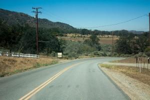 Scenery around Tehachapi, CA, 2015